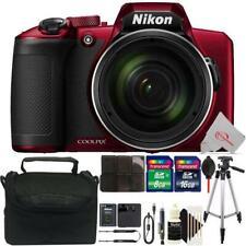 Nikon COOLPIX B600 Digital Camera (Red) + Ultimate Accessory Kit