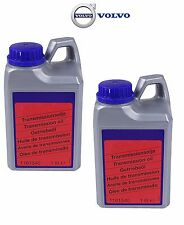 Set of 2 Liters Genuine Auto Transmission Fluid for Volvo C30 S40 S60 Based