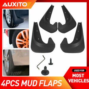 4X Universal Black Car Mud Flaps Splash Guards For Car Auto Accessories Parts