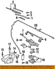 GM OEM Wiper Washer-Windshield-Crank Arm 12494832