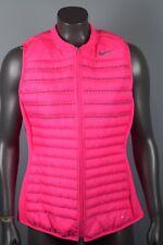 NEW! $190 Womens Nike Aeroloft Combo Golf Vest 802902 639  sz L PINK