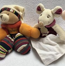 New ListingDoudou & Compagnie Baby Toys Mouse Bear Rattles Lot