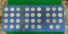 Complete 35-coin FRANKLIN HALF DOLLAR SET Circulated