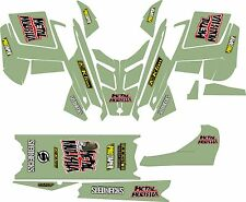 POLARIS 2015 GRAPHIC PRO R  RMK wrap decals ASSAULT 121 136 144 155 163 army