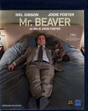 Blu Ray  MR. BEAVER - (2011) Mel Gibson Jodie Foster  ......NUOVO