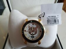 GUCCI - Mens Dive Gold Plated Cat Dial Watch