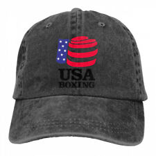 USA Boxing Logo Fashion Sandwich Adjustable Cowboys Baseball Caps/Hats