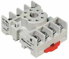 MAGNECRAFT 70-464-1 Relay Socket 8 Pin Octal 10A Din Rail/ Panel Mount