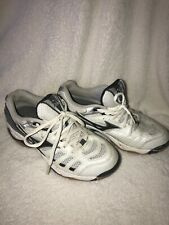 Mizuno Wave Rally 2 Womens Size 7 Volleyball Shoes 9KV-18709 Black Silver White
