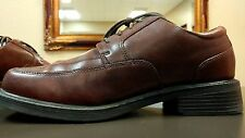 ~!Men's Leather BILL BLASS Comfort System Dress Oxford GQ Dockers Shoes.Size 11~