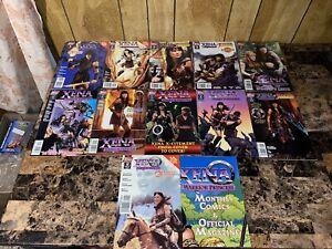 Lot of (11Bks & 1 Poster) Xena Warrior Princess, Topps Comics
