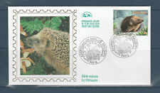 enveloppe 1er jour  nature  le hérisson 75  Paris   2001