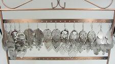 Wholesale Lot 12pairs Bulk Jewellery Lots Silver P Dangle Earring Charm Eardrop