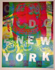 RARE POSTER - 14th Annual New York Avant Garde Festival 2nd Cambridge River 1978