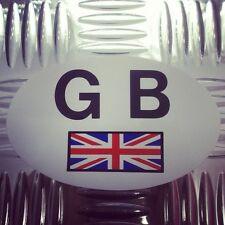 Auto, Remolque & caravan europeos de la UE Blanco Union Jack Gb Sticker Calcomanía Placa Placa