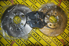 Saab 9-3 Saloon, Estate, Cabriolet 02- With 285mm Front Brake Discs And Pads