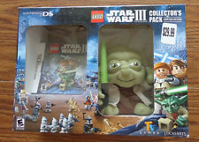 Lego Star Wars III Collector Pack DS Game and Yoda Plush – Brand New