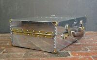 Extraordinary Aluminium Suitcase Picnic Case Polished Removable Interior