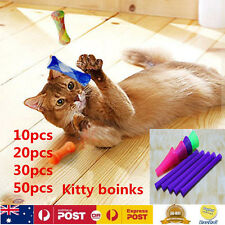 20pcs Kitty Cat Toys Kitty Boinks Colourful Fun Chase Roll