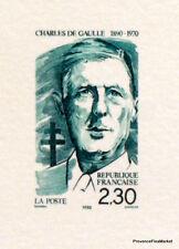 CHARLES DE GAULLE     FRANCE Document Philatélique Officiel  0690