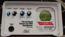 Allied Healthcare MRI Omni-Vent Series D/TAU Ventilator