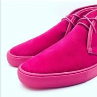 True gold fuego hot pink sneakers women's size
