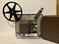 Vintage Bell & Howell 356A Auto Load Super 8mm Film Movie Projector Tested & Wor