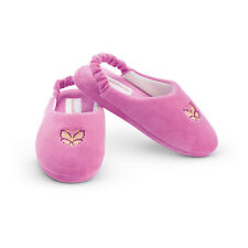 American Girl Cl Julie Slippers Large shoe size size 5 1/2-7 for Girl/Women Pjs