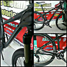 PROMO BICI MTB CARBONIO BIANCHI METHANOL 29.6 TG 43 FULL CARBON FORCELLA FOX 32