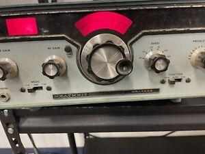 Vintage Heathkit HR-1680 SSB/CW Receiver 80-10 Meters (ham)