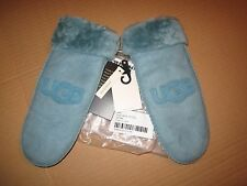 UGG Gloves Classic Logo Sheepskin Shearling Mittens Patina S/M NEW