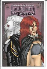 MEDIEVAL LADY DEATH & BELLADONNA #1/2 --- Avatar Press!! NM!!
