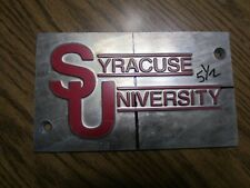 Syracuse University Stamping Printing Plate Logo