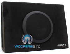 "ALPINE SBT-S10V SINGLE 10"" SWT 1000W PORTED SUBWOOFER ENCLOSURE BASS SPEAKER NEW"