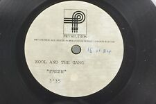 "Kool and the Gang ""Fresh""  *RARE* 1984 UK 7"" DJ PROMO ONLY PRT Studio Acetate"