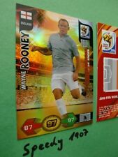 Panini Adrenalyn 2010 FIFA World Cup South Africa Champion Rooney 10