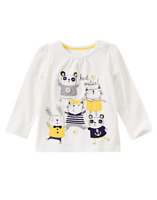 Gymboree Baby Girl Best Mates Shirt, Size 6-12 Months, Retail $21.95