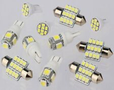 11PCS White LED Lights Interior Package for T10 & 31mm Map Dome For Ford