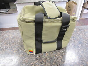Vintage Apple Macintosh Computer Travel Bag Tote Carry Case with strap - Mint