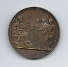 """KING CHARLES X """"REGNIO IVRE SVCEPTO"""", by Gayrard Bronze medal / M50"""