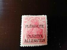 STAMPS - TIMBRE - POSTZEGELS - DUITSLAND ALLENSTEIN 1920  NR. 2 *  (D197)