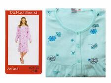 weiches Damen Nachthemd langer Arm Top Qualität,Gr XL,Baumwolle frauliches