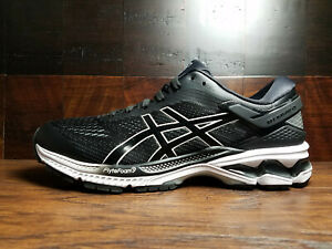 Asics Gel Kayano 26 (1011A541-001) [Black / White] Mens Running 8-13