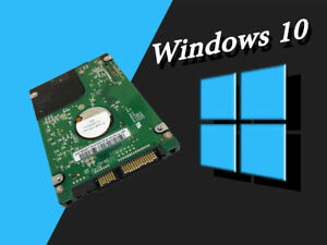 "1TB HDD/SSD 2.5"" SATA Hard Drive Laptop Internal With Windows 10 Pro Installed"
