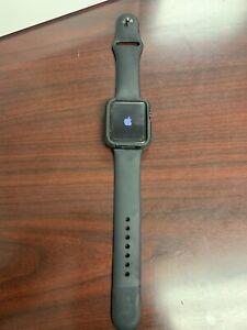 Apple Watch Series 1 42mm Space Gray Aluminum Case Case Sport Band Smart Watch -
