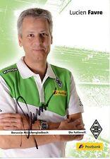 Lucien Favre   Borussia Mönchengladbach 2014  2015  Autogrammkarte 285723