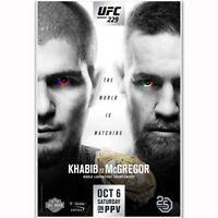 UFC 212 Aldo vs Holloway Gadelha vs Kowalkiewicz Art Silk Poster 12x18 24x36