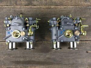 Weber 2x 40 DCOE 151 Doppelvergaser Einlauftrichter flachstrom Vergaser VW Opel