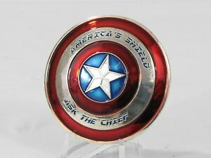 US Navy USN Captain America Shield Ask Chief CPO Challenge Coin 1A2