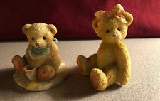 Cherished Teddies~Karen, Best Buddy and Benji, Life is Sweet Enjoy~ Lot of 2